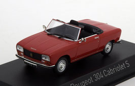 Peugeot 304 Cabriolet S 1972-1976 rot