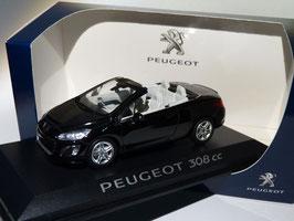 Peugeot 308 CC Phase II 2011-2015 schwarz