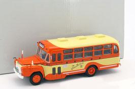Isuzu BXD-30 Bus 1962 orange / gelb