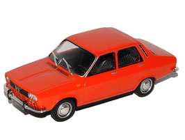 Renault 12 Berline Phase I 1969-1975 rot