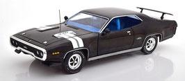 Plymouth GTX 1971 schwarz / weiss