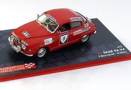 SAAB 96 V4 #8 Rally Sweden 1972 Blomqvist / Hertz