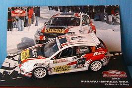 Subaru Impreza WRX #18 Rallye Monte Carlo 2010 O. Burri / S. Rey