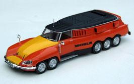 Citroën DS Michelin Mille Pattes/Tausendfüssler 5-Achser 1972 orange
