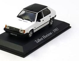 Talbot Horizon Phase III 1983-1986 weiss / schwarz