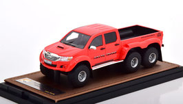"Toyota Hilux AT44 6x6 Pick Up 2014 rot ""Arctic Truck"""