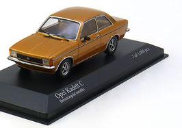 Opel Kadett C Limousine Berlina Phase II 1977-1979 Bernsteingold met.