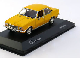 Opel Rekord D 2100 Diesel 1972-1977 gelb