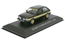 Talbot Sunbeam Lotus MK I 1981 schwarz  / gold met.