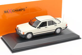 Mercedes-Benz 190 E W201 Phase I 1982-1987 weiss