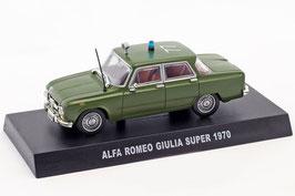 Alfa Romeo Giulia Super 1970 Carabinieri oliv