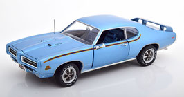 Pontiac GTO Judge 1969 hellblau met. / Decor