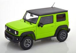 Suzuki Jimny Sierra seit 2018 hellgrün / schwarz