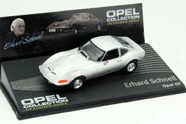 Opel GT 1968-1973 silber met.