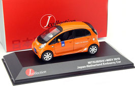 "Mitsubishi i-MiEV seit 2009 ""Japan-Netherland Embassy Car"" orange"