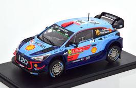 Hyundai i20 Coupé WRC #16 Rally Portugal 2018 D. Sordo / C. Del Barrio