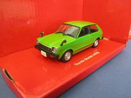 Toyota Starlet I Phase I 1978-1980 RHD grün