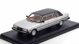 Peugeot 604 Limousine Heulieuz 1978 silber met. / matt-schwarz