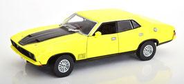 Ford Falcon XB GT351 1973-1976 RHD gelb / schwarz