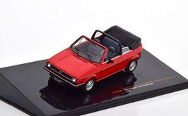 VW Golf I Cabriolet Phase I 1979-1987 rot / schwarz