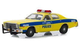"Plymouth Fury 1975-1978 ""Port Authority  New York & New Jersey gelb / blau"
