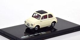 Fiat 500 D 1960-1965 Bianco / Faltdach schwarz geschlossen