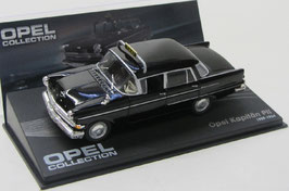 Opel Kapitän P2 1959-1964 TAXI schwarz