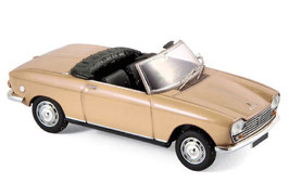 Peugeot 204 Cabriolet 1967-1970 beige met.