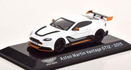 Aston Martin Vantage GT12 2015-2017 weiss / schwarz / grau / orange