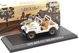 Jeep CJ-7 Golden Eagle 1976-1980 weiss / Decor