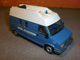 Fiat Ducato Van Maxi 1988 Polizia hellblau / weiss