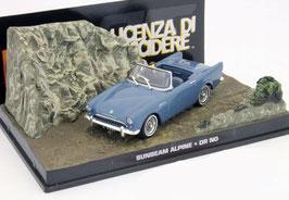 "Sunbeam Alpine Serie II 1960-1963 blau ""James Bond 007 Edition 007 jagt Dr. No"""