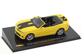 Chevrolet Camaro V Convertible Phase II 2013-2016 gelb / matt-schwarz
