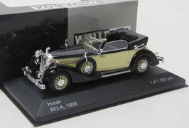 Horch 853A Cabriolet 1938 schwarz / biege