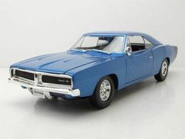Dodge Charger R/T 1969 blau met. / schwarz