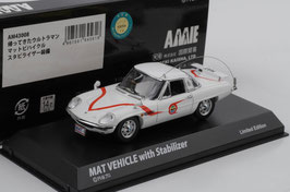 "Mazda Cosmo Sport 1967-1972 ""Mat Vehicle with Stabilizer weiss / Decor"