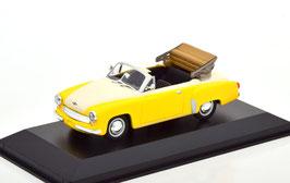 Wartburg 311 Cabriolet 1956-1960 gelb / creme