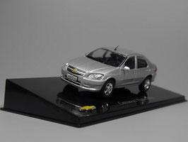Chevrolet Prisma II Sedan seit 2012 silber met. / Brasil