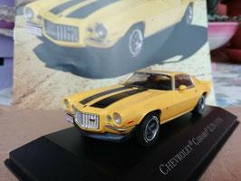 Chevrolet Camaro Z28 1970 gelb / schwarz