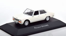 Peugeot 504 Berline Phase I 1968-1975 weiss
