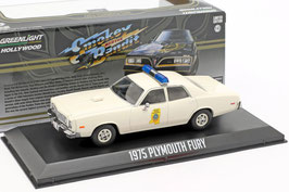"Plymouth Fury 1975-1978 ""Mississippi Highway Patrol Film Smokey and the Bandit beige"""