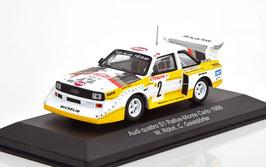 Audi Sport Quattro E2 #2 4th Rallye Monte Carlo 1986 W. Röhrl / C. Geistdörfer