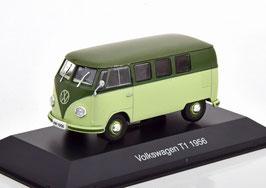 VW T1a Bus 1953-1960 hellgrün / dunkelgrün