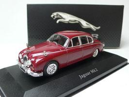 Jaguar Mark II 1959-1969 dunkelrot met.