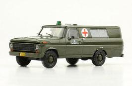 Ford F-100 Ambulancia Ejercito Argentino Army 1969 oliv