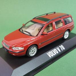 Volvo V70 II Phase I 2000-2004 rot met.