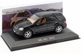 Mercedes-Benz ML 500 W164 2005-2011 schwarz