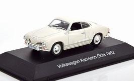 VW Karmann Ghia Coupé 1962 weiss