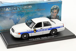 "Ford Crown Victoria 2003 California Police ""TV Serie McGyver seit 2016"""