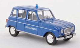 "Renault 4 ""Gendarmerie 1975"" dunkelblau / weiss"